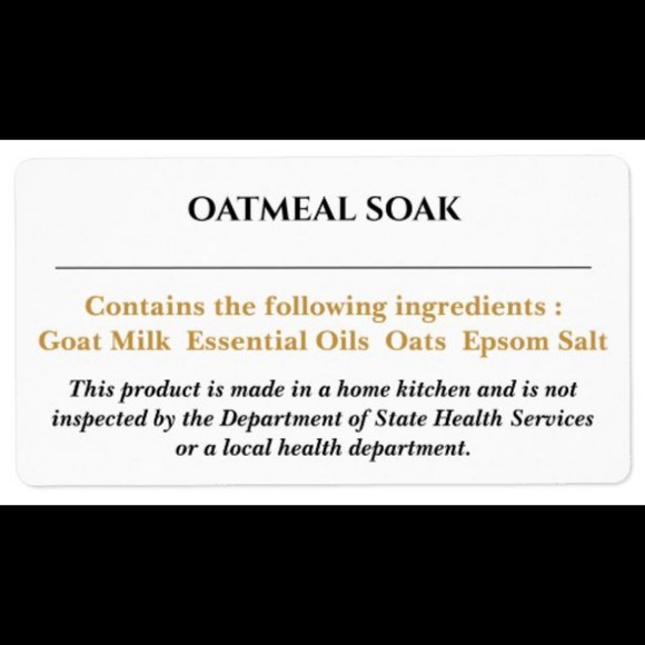 D'or Soi Amour Other - Oatmeal Bath-Product Info